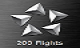 200 Flights - You are the king off the skie, an getting this award for 200 flights