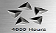 4000 Hours - Getting this award for making 4000 Hours