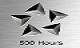 500 Hours - Getting this award for making 500 Hours